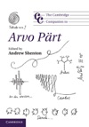 The Cambridge Companion To Arvo Prt