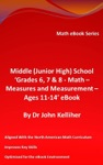 Middle Junior High School Grades 6 7  8  Math  Measures And Measurement  Ages 11-14 EBook