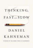 Thinking, Fast and Slow - Daniel Kahneman Cover Art
