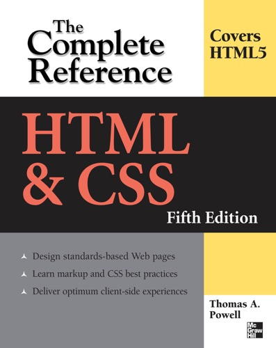 HTML  CSS The Complete Reference Fifth Edition