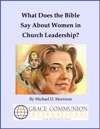 What Does The Bible Say About Women In Church Leadership