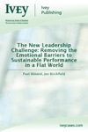 The New Leadership Challenge Removing The Emotional Barriers To Sustainable Performance In A Flat World