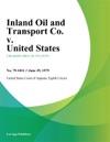 Inland Oil And Transport Co V United States