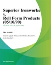 Superior Ironworks V Roll Form Products