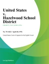 United States V Hazelwood School District