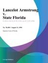 Lancelot Armstrong V State Florida
