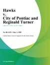 Hawks V City Of Pontiac And Reginald Turner