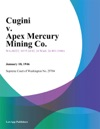 Cugini V Apex Mercury Mining Co
