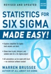 Statistics For Six Sigma Made Easy Revised And Expanded Second Edition
