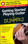 Getting Started Playing Guitar For Dummies Enhanced Edition