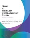 Stone V Fluid Air Components Of Alaska