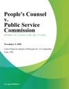 Peoples Counsel V Public Service Commission