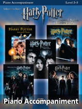 Harry Potter: Piano Accompaniment Instrumental Solos from Movies 1-5