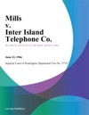 Mills V Inter Island Telephone Co