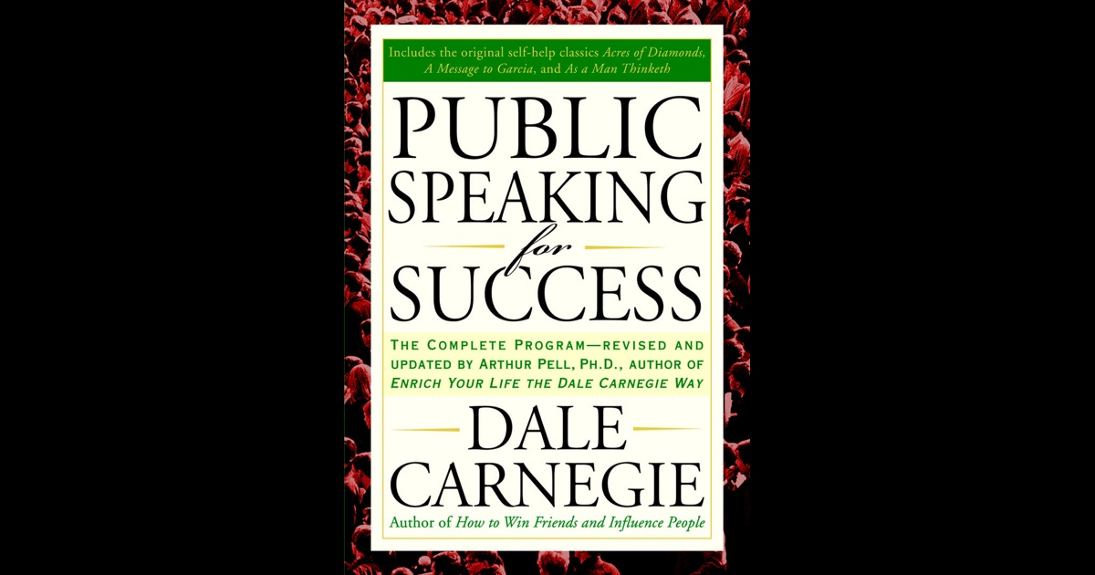public speaking for success dale carnegie free download