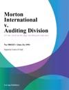 Morton International V Auditing Division
