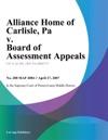 Alliance Home Of Carlisle