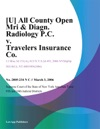 All County Open Mri  Diagn Radiology PC V Travelers Insurance Co