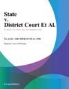 State V District Court Et Al
