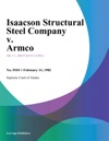 Isaacson Structural Steel Company V Armco