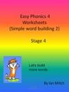 Easy Phonics 4 Worksheets Simple Word Building 2