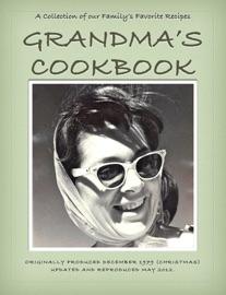 Grandma's Cookbook - May Medora Lively Keeter Ross Book