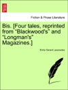 Bis Four Tales Reprinted From Blackwoods And Longmans Magazines