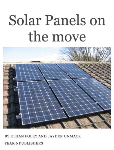 Solar Panels On the Move