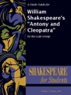 A Study Guide For William Shakespeares Antony And Cleopatra