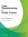 Long Manufacturing V Grady Tractor
