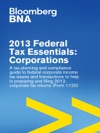 2013 Federal Tax Essentials Corporations