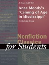 A Study Guide For Anne Moodys Coming Of Age In Mississippi