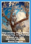 Stop Smoking  Stop Drinking A Therapy Free Drug Free Way To Break Any Habit