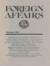 Foreign Affairs - Summer 1980
