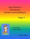 Easy Phonics 3 Worksheets Simple Word Building 1