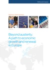 Beyond Austerity A Path To Economic Growth And Renewal In Europe