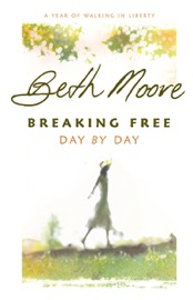 Breaking Free Day by Day - Beth Moore Book
