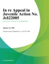 In Re Appeal In Juvenile Action No Js-2085