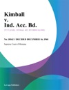 Kimball V Ind Acc Bd