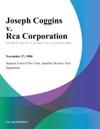 Joseph Coggins V Rca Corporation