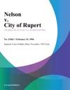 Nelson V City Of Rupert