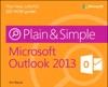 Microsoft Outlook 2013 Plain  Simple
