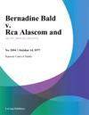 Bernadine Bald V Rca Alascom And