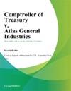 Comptroller Of Treasury V Atlas General Industries