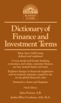 Dictionary Of Finance And Investment Terms 9th Edition