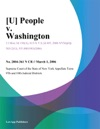 U People V Washington