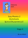 Easy Phonics 2 Worksheets Goulfbjqvwxyz