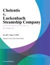 Chelentis V Luckenbach Steamship Company