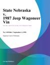 State Nebraska V 1987 Jeep Wagoneer Vin