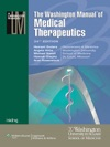 The Washington Manual Of Medical Therapeutics 34th Edition